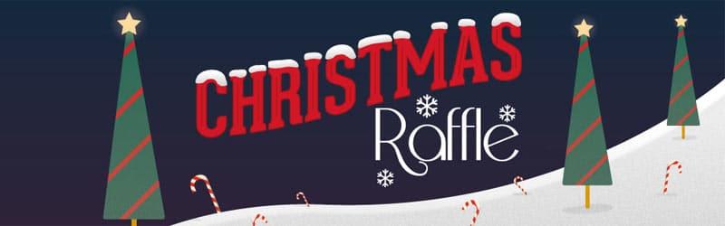 Christmas Raffle at Tombola