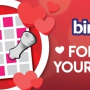 Valentines Bingo Promotion at Tombola