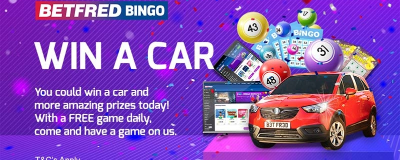 Win a Car with Betfred Bingo