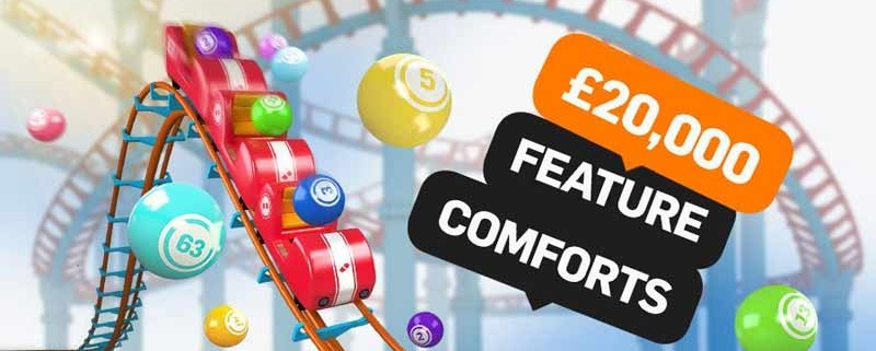 20k Feature Comforts Offer at Betfair Bingo